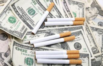 Cigaretter og penge
